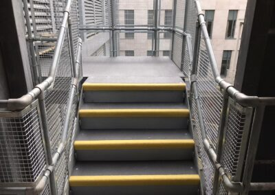 Anti-Clip Covers For Stairs, The Royal London Hospital, London E1