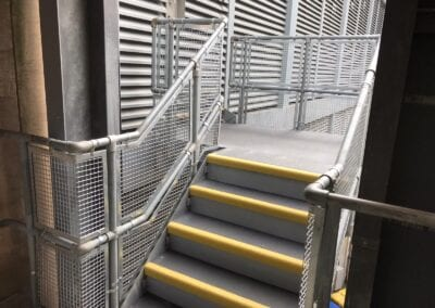 Anti-Clip Covers For Stairs, The Royal London Hospital, London E1 2