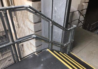 New Infill Panels For Handrails, The Royal London Hospital, London E1 3