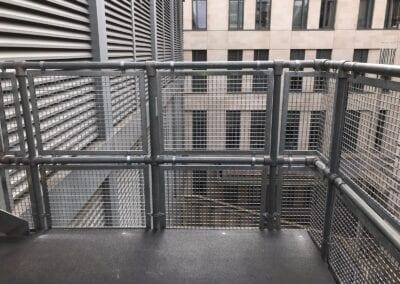 New Infill Panels For Handrails, The Royal London Hospital, London E1 4