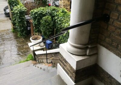 New Entrance Handrails, Stoke Newington, London N16 4