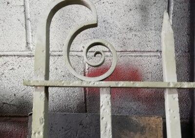 Railing Repairs, Old Paradise Gardens, Lambeth, London SE1 6