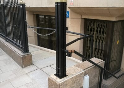 Column and Handrail Repairs, Covent Garden, London WC2