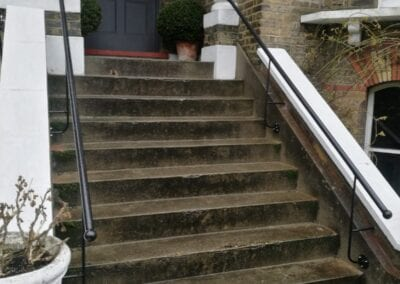 New Entrance Handrails, Stoke Newington, London N16