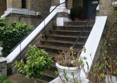 New Entrance Handrails, Stoke Newington, London N16 2