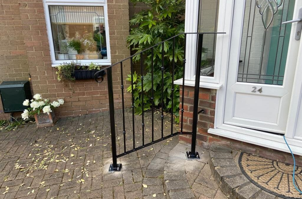 Front Entrance Handrail, Woodford Green, Essex