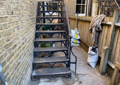 Repair of Edwardian Staircase, Dalston, London E8