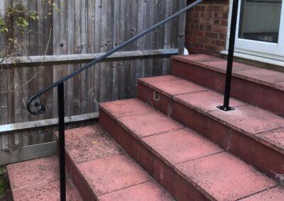 New Garden Handrail, Walthamstow, London E17