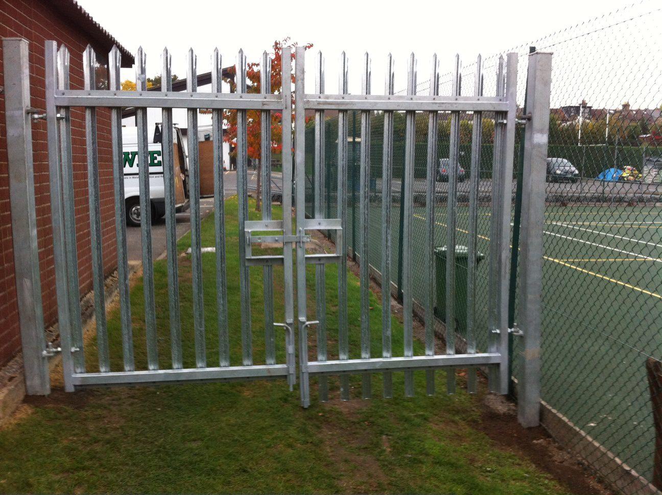 Newly Installed Sports Ground Gates