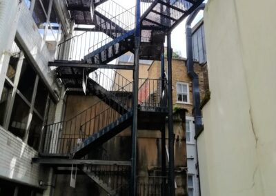 Inspection of Two Staircases, London EC3