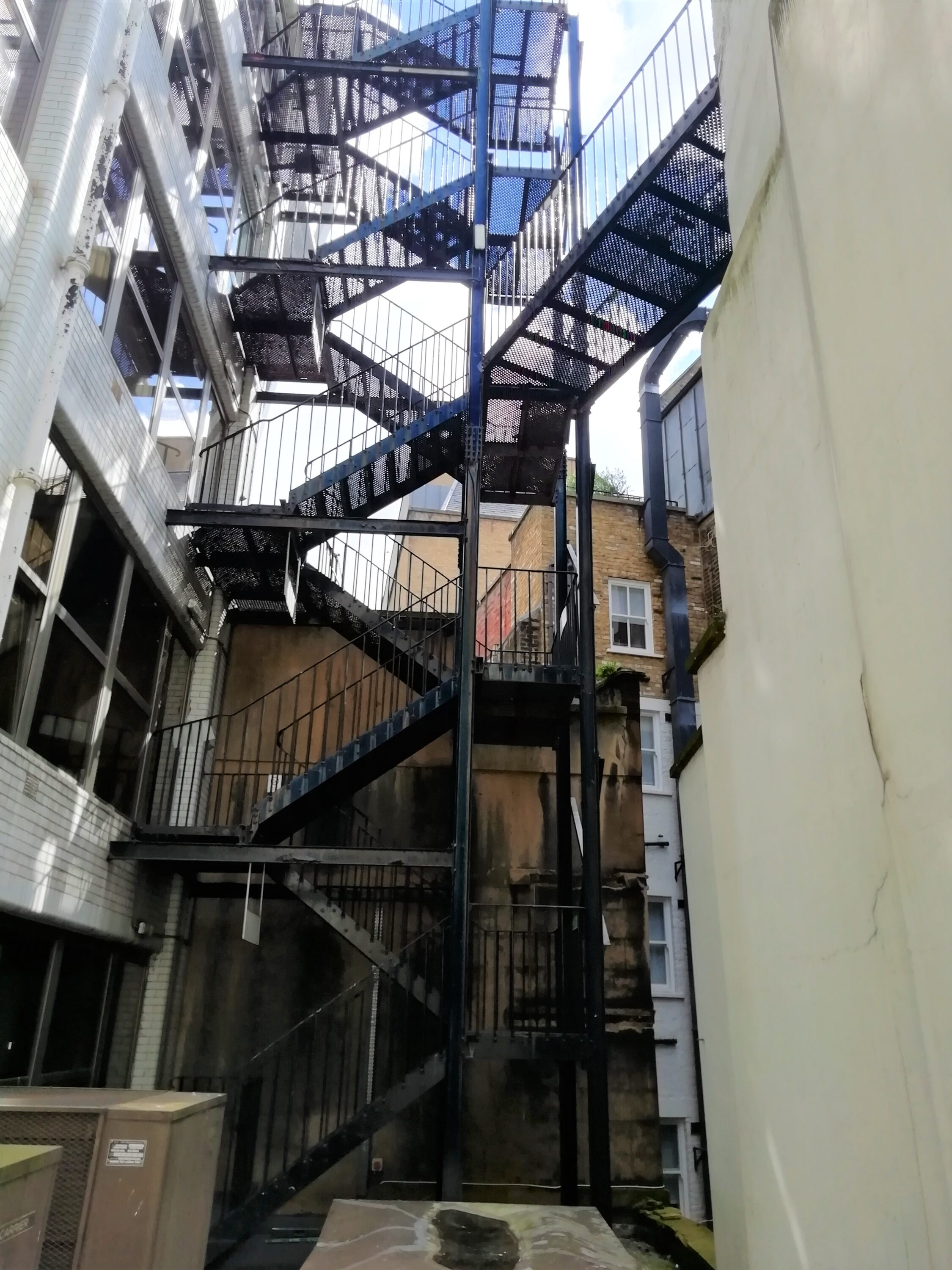 Inspection of Two Staircases, London EC3 1
