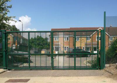 New Vehicle Entrance Gates, Royal Museums Greenwich – Kidbrooke Stores