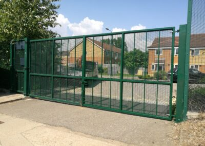 New Vehicle Entrance Gates, Royal Museums Greenwich – Kidbrooke Stores 2