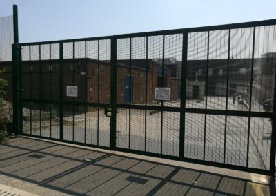 New Vehicle Entrance Gates, Royal Museums Greenwich – Kidbrooke Stores 4