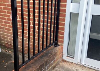 New Railings for Knowl Hill School, Pirbright, Surrey 2
