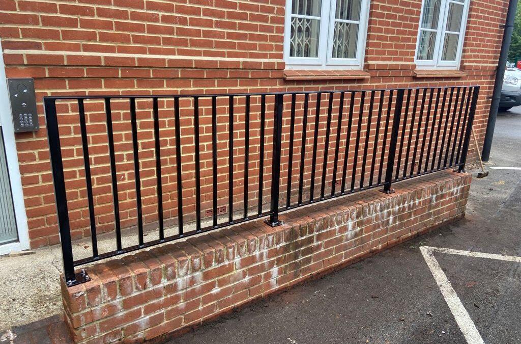 New Railings for Knowl Hill School, Pirbright, Surrey