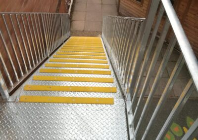 Replacement Fire Escape for Knowl Hill School, Pirbright, Surrey 2