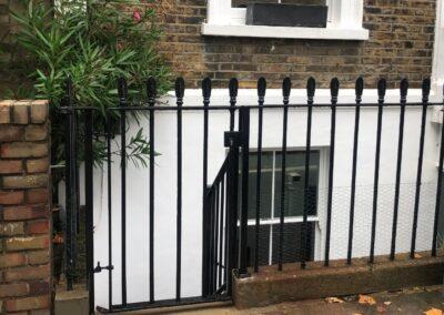New Gate in Railings, London N1